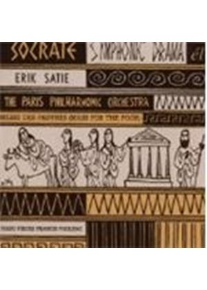 Satie/Poulenc - Socrate/Mass For The Poor/Piano Pieces (Music CD)
