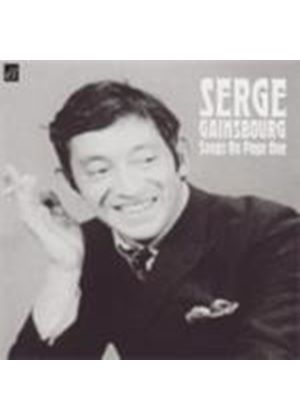 Serge Gainsbourg - Songs On Page One (Music CD)