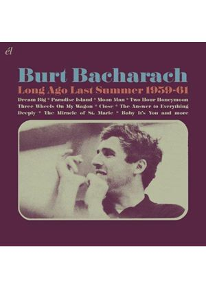 Burt Bacharach - Long Ago Last Summer 1959-61 (Music CD)