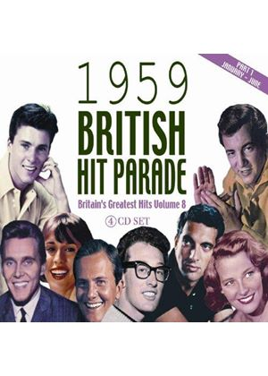 Various Artists - The 1959 British Hit Parade, Vol. 1 (Music CD)
