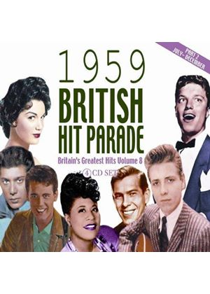 Various Artists - The 1959 British Hit Parade, Vol. 2 (Music CD)