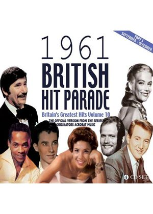 Various Artists - British Hit Parade 1961 Part 3 (Music CD)