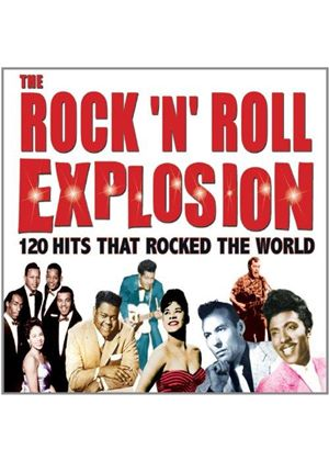 Various Artists - Rock 'n' Roll Explosion (120 Hits That Rocked the World) (Music CD)