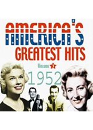 Various Artists - Americas Greatest Hits Vol. 3 1952 (Music CD)