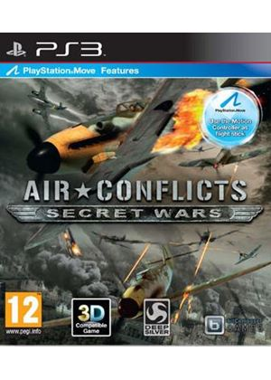 Air Conflicts - Secret Wars (Move Compatible) (PS3)