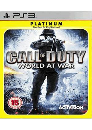 Call of Duty - World at War - Platinum (PS3)