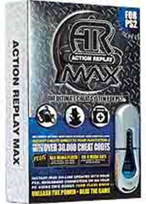 Action Replay MAX EVO Edition + MAX Drive (Datel) (PS2)