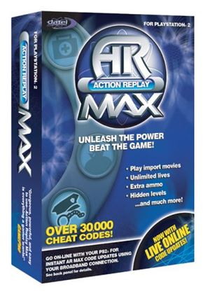 Action Replay Max with DIV X Viewer (Datel) (PS2)