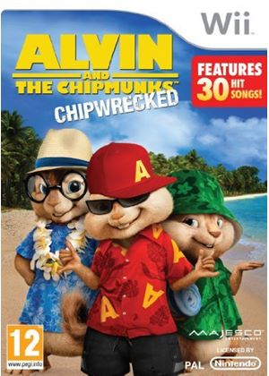 Alvin & The Chipmunks: Chipwrecked (Wii)