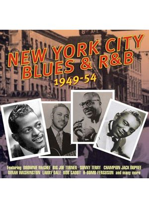 Various Artists - New York City Blues and R&B 1949-1954 (Music CD)