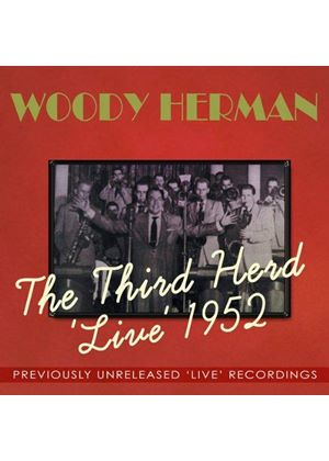 Woody Herman - Third Herd Live 1952 (Live Recording) (Music CD)