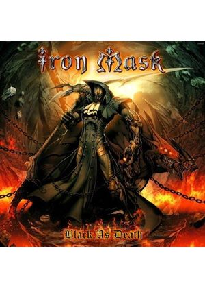 Iron Mask - Black As Death (Music CD)