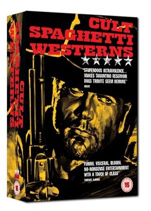 Cult Spaghetti Westerns Collection - Django / A Bullet For The General / Keoma