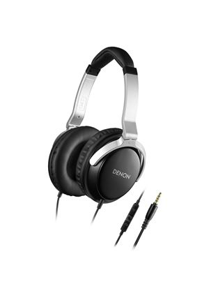 Denon Mobile Elite Over-Ear Headphones with 3 Button Remote and Mic
