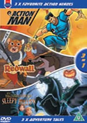 3 Favourite Action Heroes - Action Man / Redwall / Sleepy Hollow (Animated) (Three Discs)