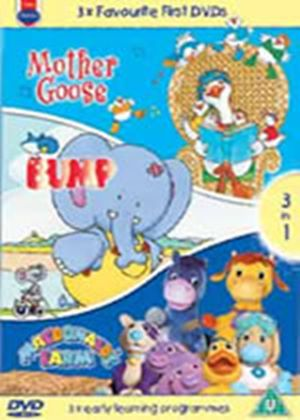 3 Favourite First - Mother Goose / Bump / MacDonalds Farm (Animated) (Three Discs)