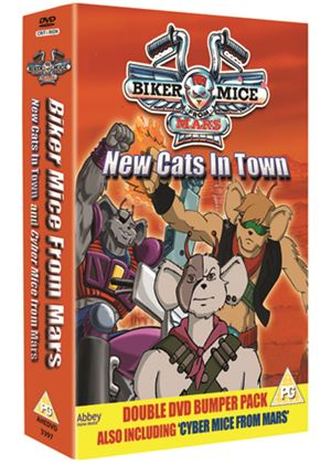 Biker Mice From Mars - New Cats In Town / Cyber Mice From Mars