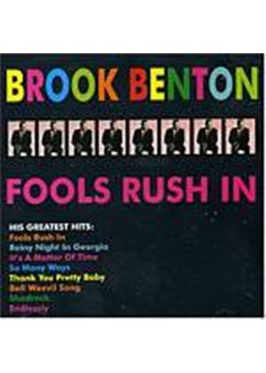 Brook Benton - Fools Rush In (Music CD)