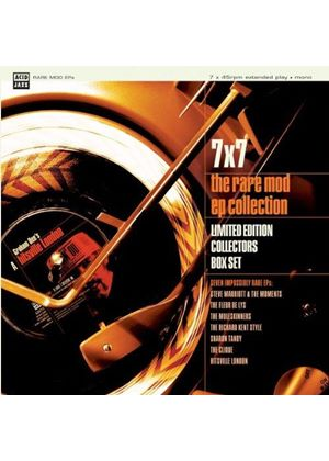 Various Artists - 7 X 7-The Rare Mod EP Collection - The Complete Bo (Music CD)