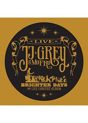 JJ Grey - Brighter Days (Live Recording/+2DVD) (Music CD)