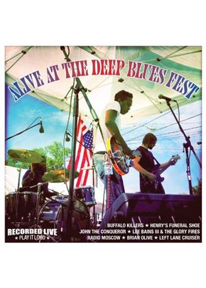 Various Artists - Alive at the Deep Blues Fest (Live Recording) (Music CD)