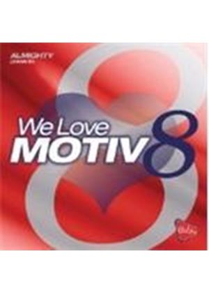 Various Artists - We Love Motive8 (Music CD)