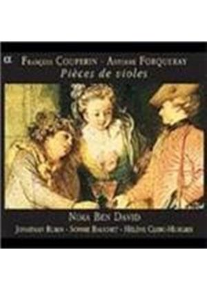 COUPERIN/FORQUARY - PIECES DE VIOLES