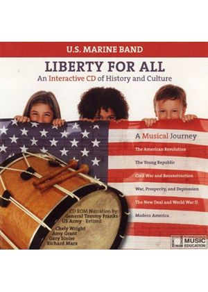 United States Marine Band - Liberty For All [US Import]