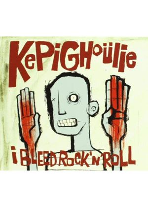 Kepi Ghoulie - I Bleed Rock and Roll (Music CD)