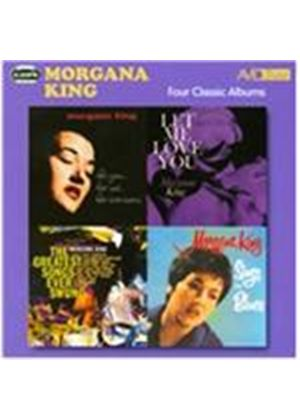 Morgana King - Four Classic Albums (For You, For Me, For Evermore/Sings the Blues/the Greatest Songs Ever Swung/Let Me Love (Music CD)