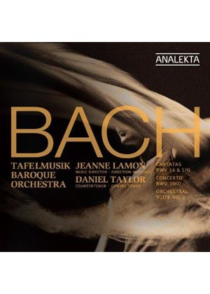 Bach: Cantatas BWV 54 & 170; Concerto BWV 1060; Suite BWV 1067 (Music CD)