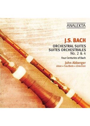 J.S. Bach: Orchestral Suites Nos. 2 & 4 (Music CD)