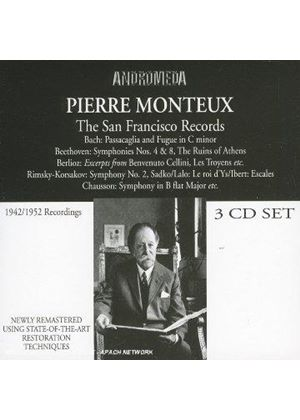 Pierre Monteux - (The) San Francisco Recordings