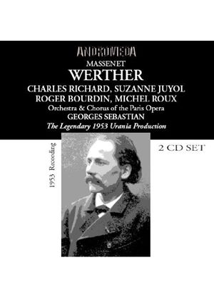 Massenet - WERTHER 2CD