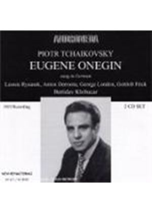 TCHIAKOVSKY - EUGENE ONEGIN (IN GERMAN) 2CD