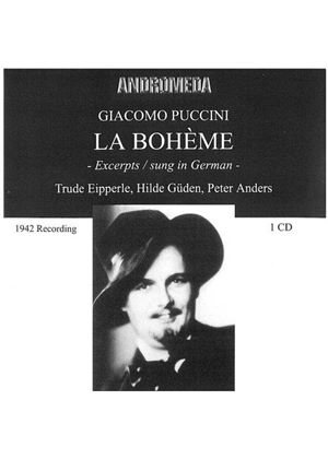 Puccini - LA BOHEME EXCERPTS (IN GERMAN)