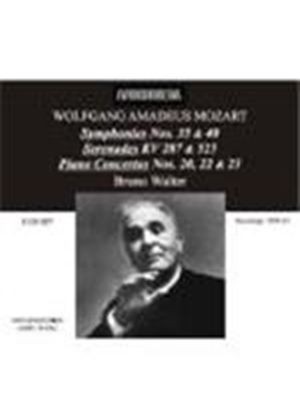Walter conducts Mozart