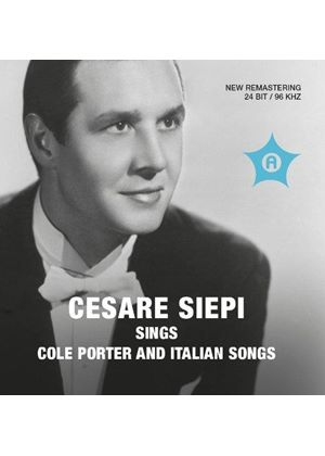 Cesare Siepi Sings Cole Porter and Italian Songs (Music CD)