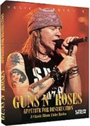 Guns N' Roses Music Milestones Appetite For Destruction