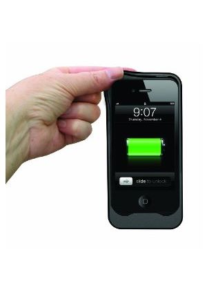 Energizer AP1201 Silicone Protective Case with built in rechargeable battery for iPhone4 and iPhone 4S