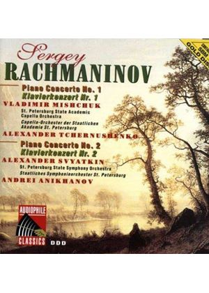 RAKHMANINOV - PIANO CONCERTOS NO 1 & 2