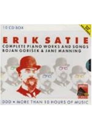 Satie - COMPLETE PIANO WORKS & SONGS 10CD