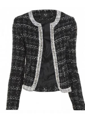Tweed Spike Jacket in Two Colours