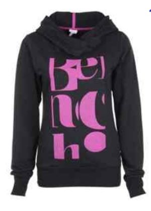 Ruchia Hooded Sweatshirt in Black