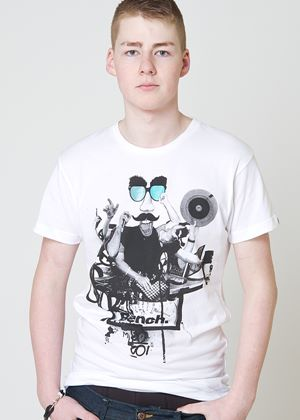 DJ Octo T Shirt in White