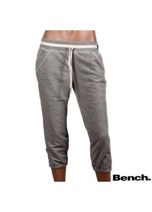 Skandi Relaxed Cropped Jogging Bottom in Grey