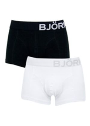 Side Stretch Boxer in White or Black