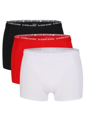 3 To Go Side Strech Short Shorts in (3 Pack)