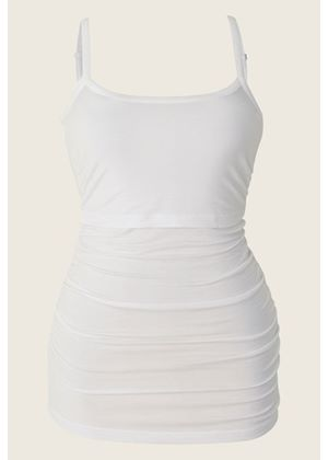 Nursing singlet Before & After in White