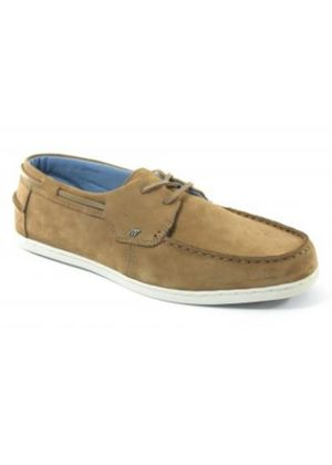 Jib Lea Nat Buck Butternut shoe
